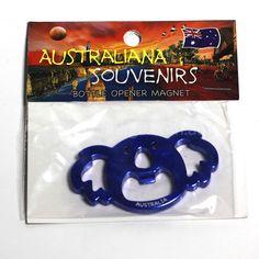 Koala, Fridge-Magnet, Bottle-Opener   MAKO-BLUE