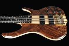 2014 Ken Smith 5TN BSR Black Tiger Figured Walnut 5 String Bass Black Tiger | Reverb