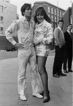 #Sixties | Co-ordinated outfits, London, 1968