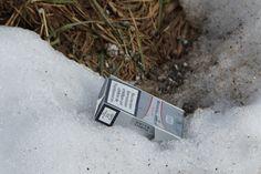 (weg)g(e)raucht und (weg)g(e)worfen Entsorgung am Wegesrand Mp3 Player