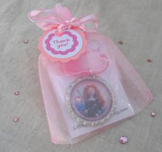 Brave birthday party favors, girls, set of 10,girls,Merida, disney princess,. $25.00, via Etsy.