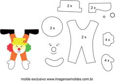 Eu Amo Artesanato: Lembrancinhas de Palhacinhos com Moldes Best Picture For diy carnival signs For Your Taste You are looking for something, and it is going to tell you exactly what you are looking fo Carnival Tent, Carnival Signs, Carnival Booths, Carnival Decorations, Carnival Masks, School Decorations, Carnival Costumes, Carnival Dress, Carnival Prizes