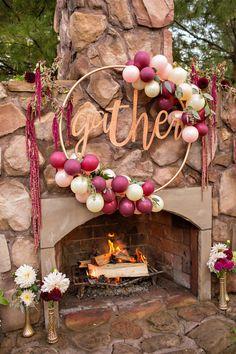Glam DIY Thanksgiving Decoration
