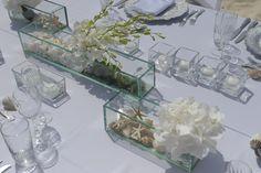 #beach #wedding table decor