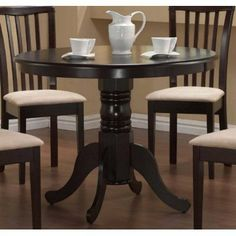 Pedestal Round Dining Table Cappuccino Finish by Coaster Home Furnishings, http://www.amazon.com/dp/B002X3JLRK/ref=cm_sw_r_pi_dp_Ruw-qb025GX0D