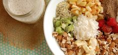 Superfood Muesli: add an extra-energizing breakfast to your morning routine (raw, vegan).