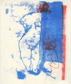 Monoprints – Sarah Awad Art, Monoprint, Humanoid Sketch