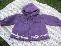 Ravelry: One Skein Hooded Baby Sweater pattern by McCall Pattern Company