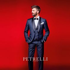Collezione 2016 Petrelli Uomo Pleasure Classic Suits abito da sposo wedding