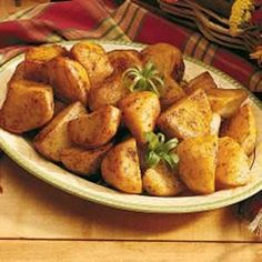 Oven-Roasted Potatoes #Food #Potatoes #LosAngles forked.com