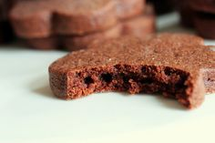 brownie roll-out cookies by smitten.