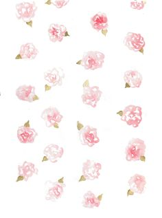Floral watercolour