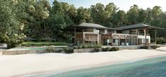 Private beach and hillside residences   Piet Boon®