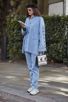 Street Style Londres : les plus beaux looks repérés à la Fashion Week de Londres - Elle