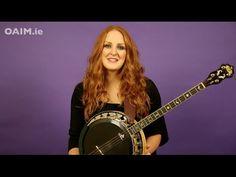 Beginner Irish Banjo Lesson 1: Intro + How to Hold etc | OAIM.ie Tutorials