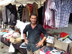 Wazemmes : Benoît habille l'homme depuis vingt ans, mais sur son stand du marché