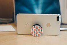 Pop Socket phone grip pineapple pattern