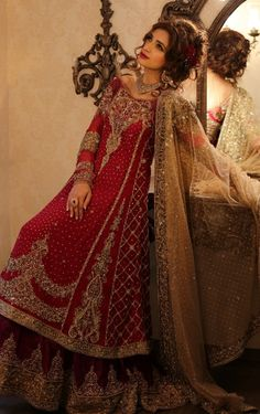 Lehenga designs - Pink with Green Color Party Wear Lehenga Choli Dupatta Designer Bridal Lehenga, Bridal Lehenga Choli, Pakistani Bridal Dresses, Lehenga Saree, Indian Dresses, Pakistani Couture, Ghagra Choli, Net Saree, Pakistani Suits