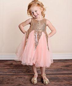 Pink Sparkle Dress - Infant, Toddler & Girls
