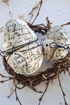 Huevos de pascua. Deco. Decoracion. Manualidad: