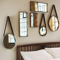 Buy John Lewis Rectangle Iron Mirror, Large Online at johnlewis.com