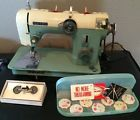 1968 New Home Janome Sewing Machine ~ Model 671 ~ Sews Leather - http://collectibles.goshoppins.com/sewing-1930-now/1968-new-home-janome-sewing-machine-model-671-sews-leather/