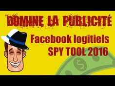 Facebook publicité pro logitiels secret Spy Tools, Mario, Marketing, Facebook, Youtube, Fictional Characters, Products, Fantasy Characters, Youtubers