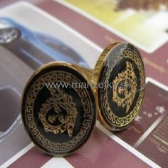 www.manzetky.sk Class Ring, Cufflinks, Personalized Items, Rings, Gold, Ring, Jewelry Rings, Wedding Cufflinks, Yellow