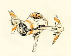 Little Spaceship by JakeParker on deviantART