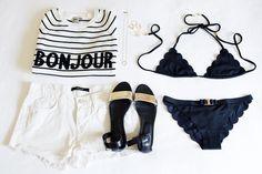 how to wear: breton stripes