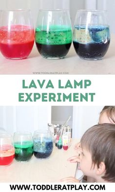 Easy and fun science experiment for kids.   #lavalamps #lavalampexperiment #scienceexperiments Science Activities For Toddlers, Science Experiments For Preschoolers, Science Lessons, Science For Kids, Kindergarten Science Projects, Kindergarten Science Experiments, Summer Science, Chemistry Experiments, Science Projects For Kids
