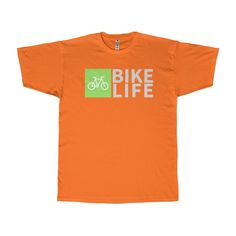 Cycling Apparel - Bike Life - Adult Soft Spun T-Shirt 66a7b4a3b