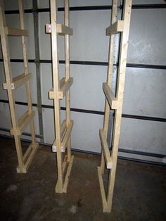 Step By Step How To Build Basement Shelves