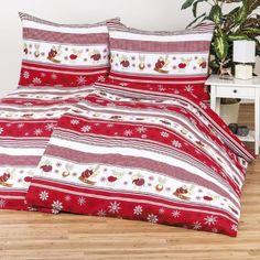 Zaujímavé posteľné obliečky s vianočným motívom