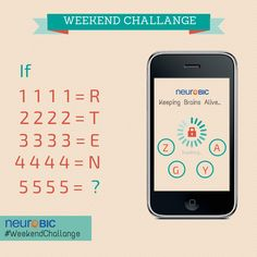 Find the unknown (?) from the 4 options avaialble at mobile to unlock. Provide your method in getting the #answer.Let's play the #BrainGame Its Time to Show Your #Intelligence.  #WeekendChallange #BrainTeaser
