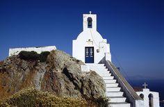 Church on the rock @ #Serifos #Greece #travel #ttot #travelling2GR #visitGReece #comeinGReece #summerinGReece  PHOTO via: Markus Breiter http://www.flickr.com/photos/boersenbalou/433494066/