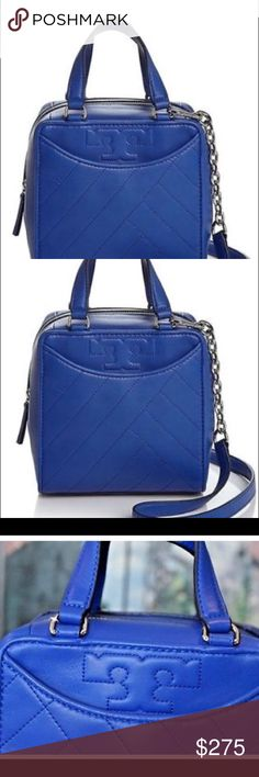 bb946ea42f5 Tory Burch Alex SongBird Blue Purse These is a brand new Tory Burch purse  with the