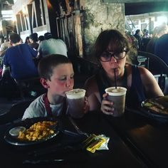 Breaking out the butter beer on a hot day #summervacation2016