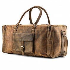 Herren Reisetasche aus B�ffelleder - Weekender Leder - A.P.Donovan