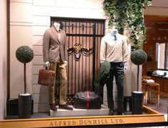 Alfred Dunhill Window Display (Vision Display Singapore)