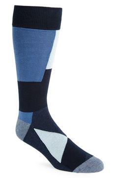 Calibrate Colorblock Socks (3 for $30) available at #Nordstrom