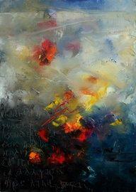 Saatchi Online Artist: Pol Ledent; Painting, 2002, Printmaking Abstract 0805
