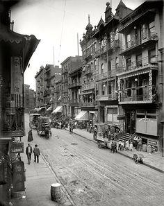 Chinatown, 1900
