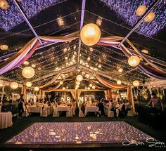 Kate and Silva's Wedding was a lovely setup in the Swan Valley with serious style. The LED Star Light Dance Floor under the marquee set the mood nicely for a big celebration! Photo taken by Jason Soon Photography.