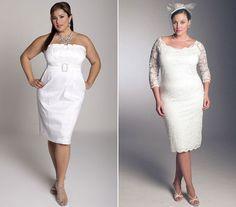 A rövid ruha, főleg, ha formás a lábad, jó választás, mert a túl sok textil nem mutat még nagyobbnak - bátran válassz ilyet!