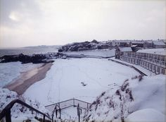 Snow in st ives