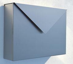 Briefkasten Letter aus Edelstahl
