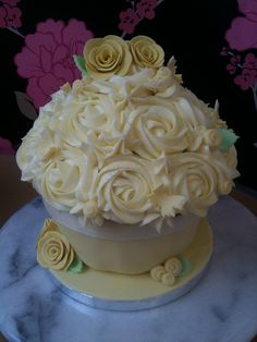 70th Birthday Giant Cupcake by Cirencester Cupcakes, via Flickr