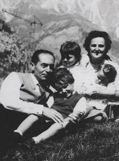St. Gianna Molla with her family