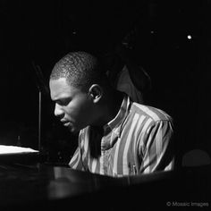McCoy Tyner // photo by F. Wolff...our whole of my favorite piano players